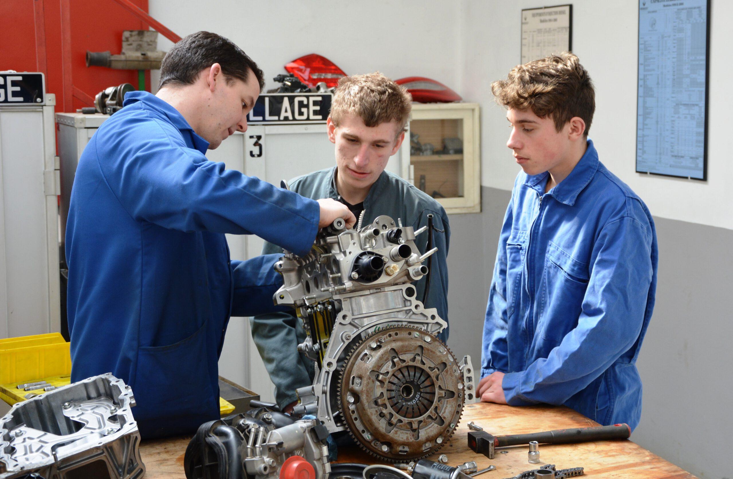 Orientation Atelier Mécanique 3eme