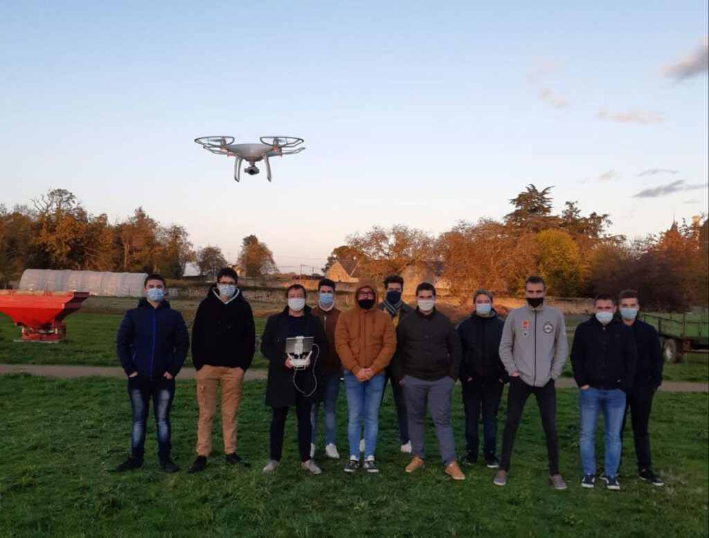 MFR Drones en Agroéquipement